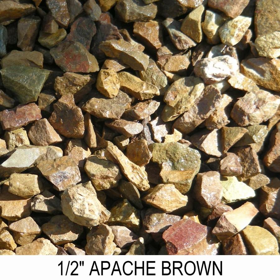 Apache Brown Sizes Boulder Placement