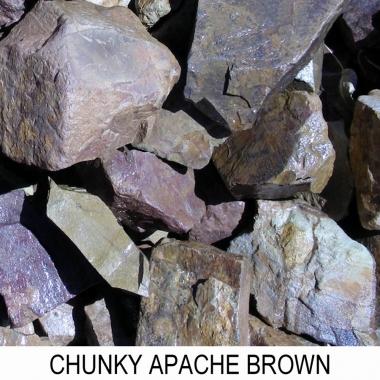 Apache Brown Chunky