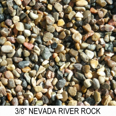 River Rock Nevada 3/8