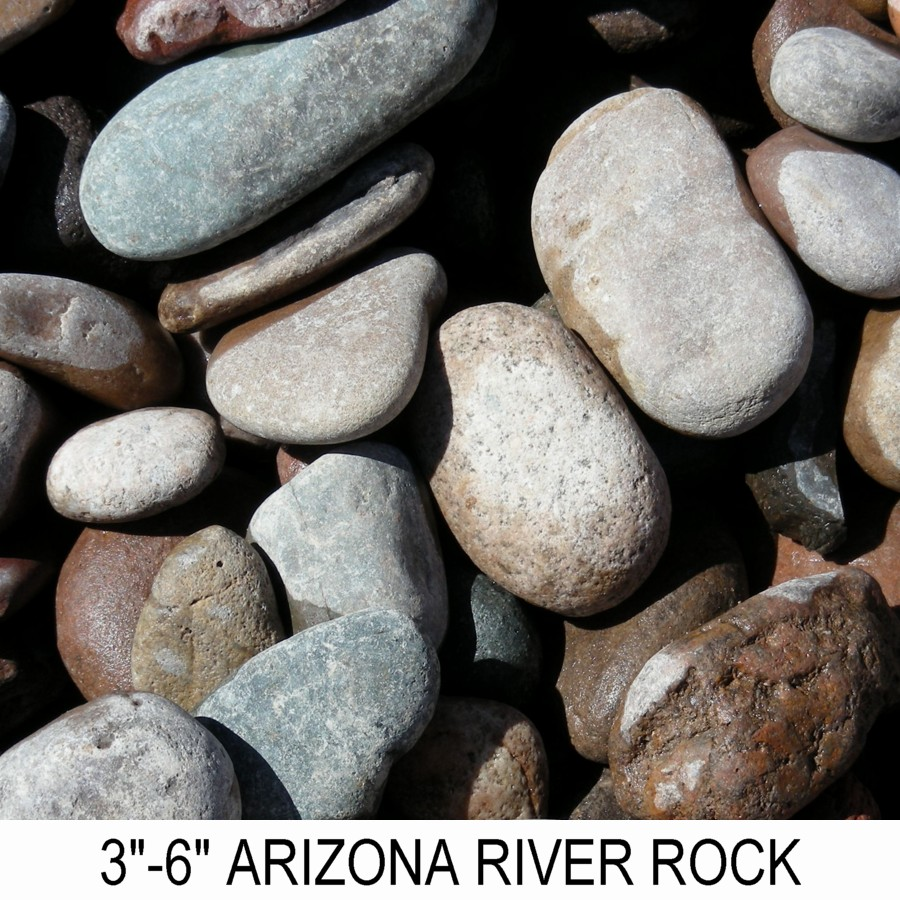 River rock arizona boulder placement for What to do with river rock