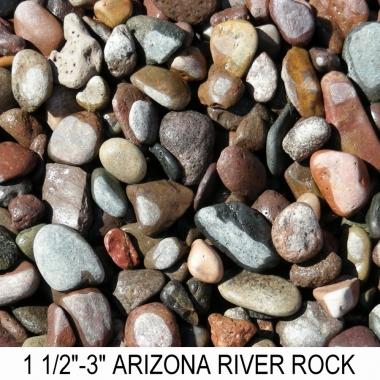 River Rock 1 1/2 - 3