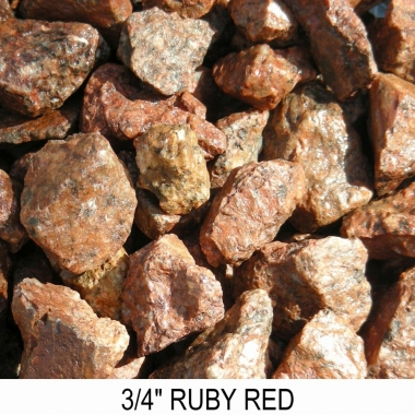 Ruby Red 3/4