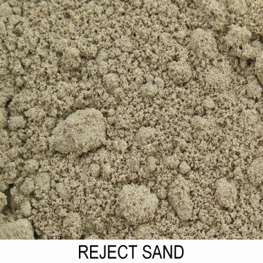 Reject Sand rev