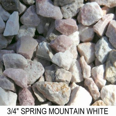 Spring Mountain White 3/4