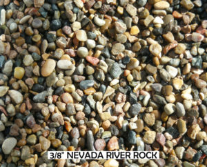 Nevada River Rock 3/8