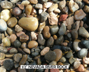 Nevada River Rock 1/2