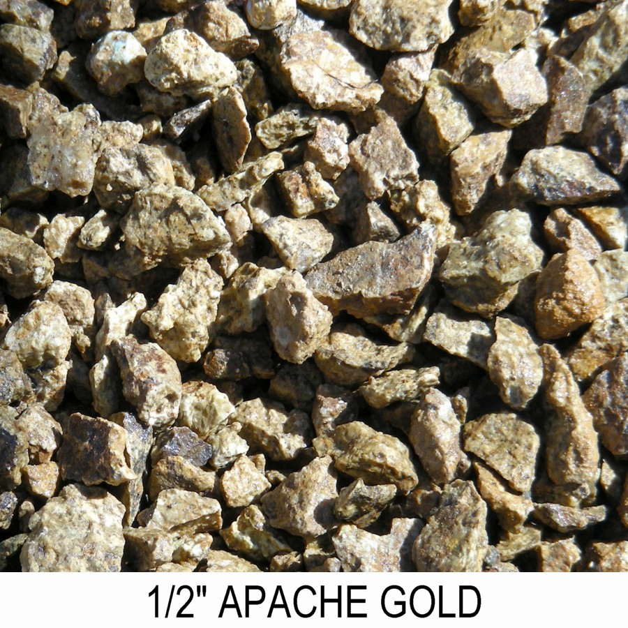 Apache Gold Boulder Placement