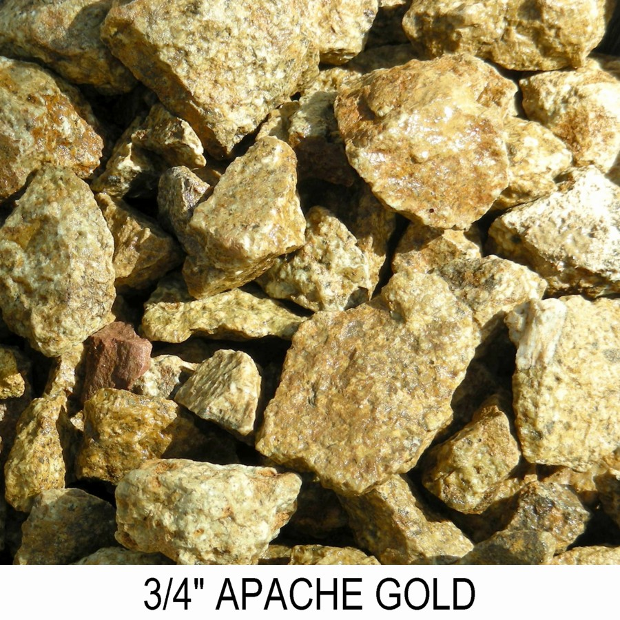 Apache Gold Boulder Placement